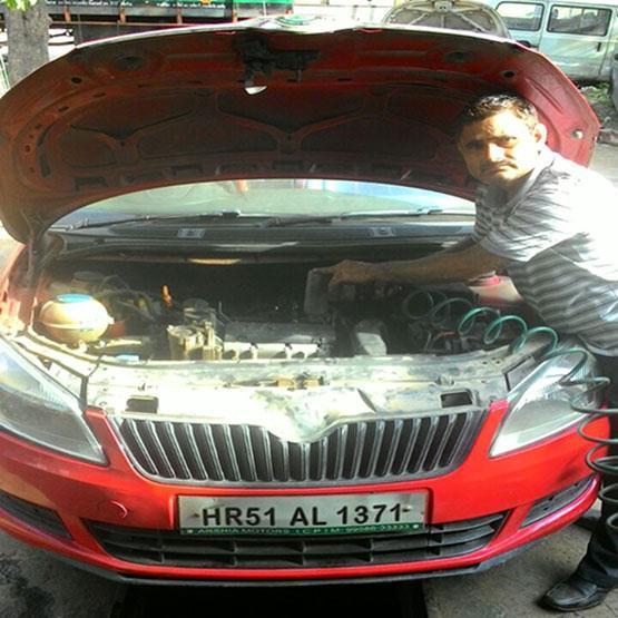 Shri krishna automobiles Faridabad