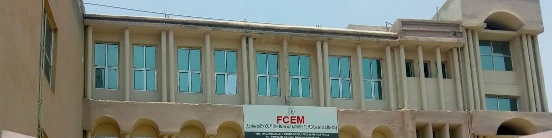 Faridabad college of engineering and management Faridabad